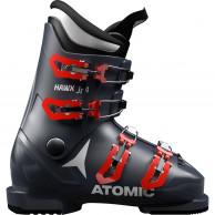 Atomic Hawx Jr 4, skitsøvler, junior, blå, mørkeblå