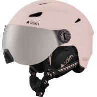 Cairn Impulse skihjelm med visir, rosa
