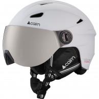 Cairn Impulse skihjelm med visir, junior, hvid