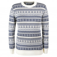 Kama Alba, merino sweater, dame, hvid