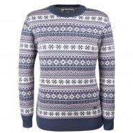 Kama Alba, merino sweater, dame, blå