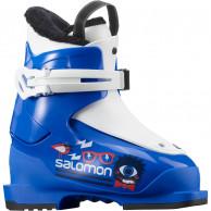 Salomon T1, skistøvler, børn, blå