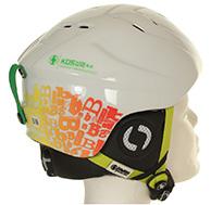 Bliss KDS skihjelm, børn, hvid/grøn