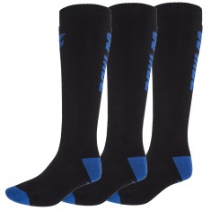 4F 3 par billige skistrømper, herre, dark blue