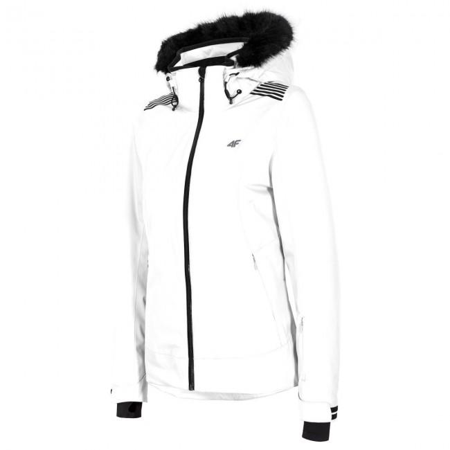 40b62de4 4F Diana skijakke, dame, hvid - Skisport.dk SkiShop