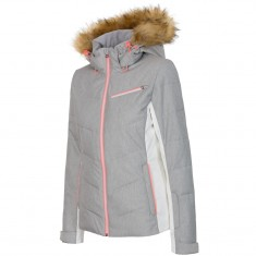 4F Marina skijakke, dame, grå