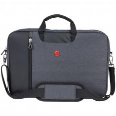 4F Messenger Bag, Grey Melange
