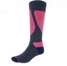 4F Ski Socks, skistrømper til damer, 1-par, blå/violet