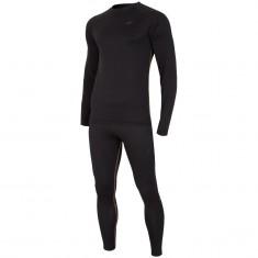 4F Thermodry skiundertøj sæt, herre, deep black