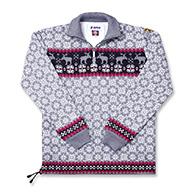 Kama norsk striksweater, damemodel