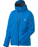 Haglöfs Verte II Jacket, herrejakke, blå