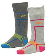 4F Ski Socks, billige skistrømper til børn