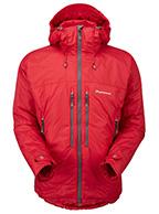 Montane Flux Mountain jakke, herre, rød