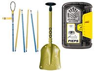 Pieps, DSP PRO sikkerhedspakke med bipper, sonde og skovl