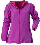 Weather Report Tanna, softshell jakke, kvinder, lilla