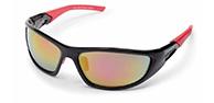 Demon Power sportssolbriller, sort/rød