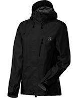 Haglöfs Astral II Q Jacket, damejakke, sort