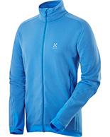 Haglöfs Bungy II Jacket, fleecejakke, blå