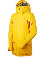 Haglöfs Chute II Jacket, jakke, gul