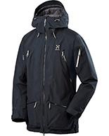 Haglöfs Chute II Jacket, jakke, sort