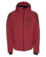 Kilpi Pelto, skijakke til mænd, rød
