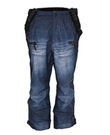 Kilpi Pihlaja, wide-fit herreskibukser, jeans look