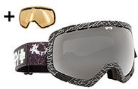 Spy+ Platoon JF Houle Ski Goggle,Black Mirror