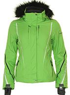 DIEL Hamar skijakke, dame, grøn