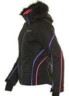 DIEL Ski Spirit II dameskijakke, sort