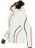 DIEL Ski Spirit II dameskijakke, hvid
