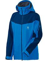 Haglöfs Couloir IV Jacket, jakke, blå