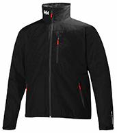 Helly Hansen Crew Jacket, fritidsjakke, mænd, sort