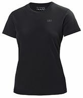 Helly Hansen W Training T-Shirt, korte ærmer, sort