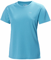 Helly Hansen W Training T-Shirt, korte ærmer, blå