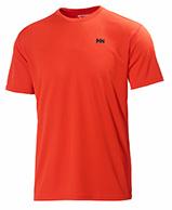Helly Hansen Training T-Shirt, korte ærmer, rød