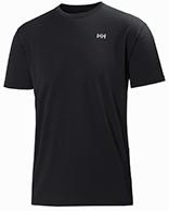 Helly Hansen Training T-Shirt, korte ærmer, sort
