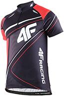 4F Thermodry Racing Cykeltrøje, sort, herre
