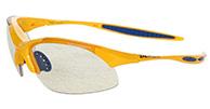 Demon 832 Photochromatic solbrille, gul/smoke