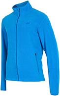 4F Fleece jakke, herre, blå