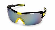Demon Vuelta cykel solbriller, sort/gul