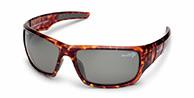 Demon Bowl solbriller, brun, polariserede