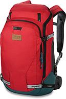 Dakine Womens Heli Pro DLX 24L, rød