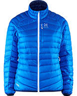 Haglöfs Essens III Down Jacket Women, blå