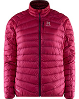 Haglöfs Essens III Down Jacket Women, vinrød