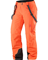 Haglöfs Line Insulated Pant Women, rød