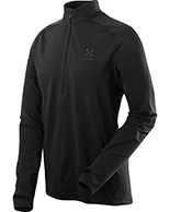 Haglöfs Intense Zip Top, sort