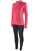 4F Cooldry skiundertøj, dame, sæt, pink