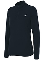 4F Microtherm fleece undertrøje/pulli, dame, sort