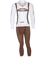 Lenz X-Action Hansi skiundertøj, sæt, herre