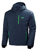 Helly Hansen Express skijakke, herre, blå